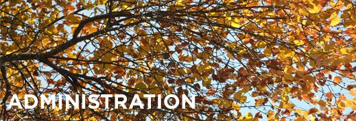 Administration Banner Fall