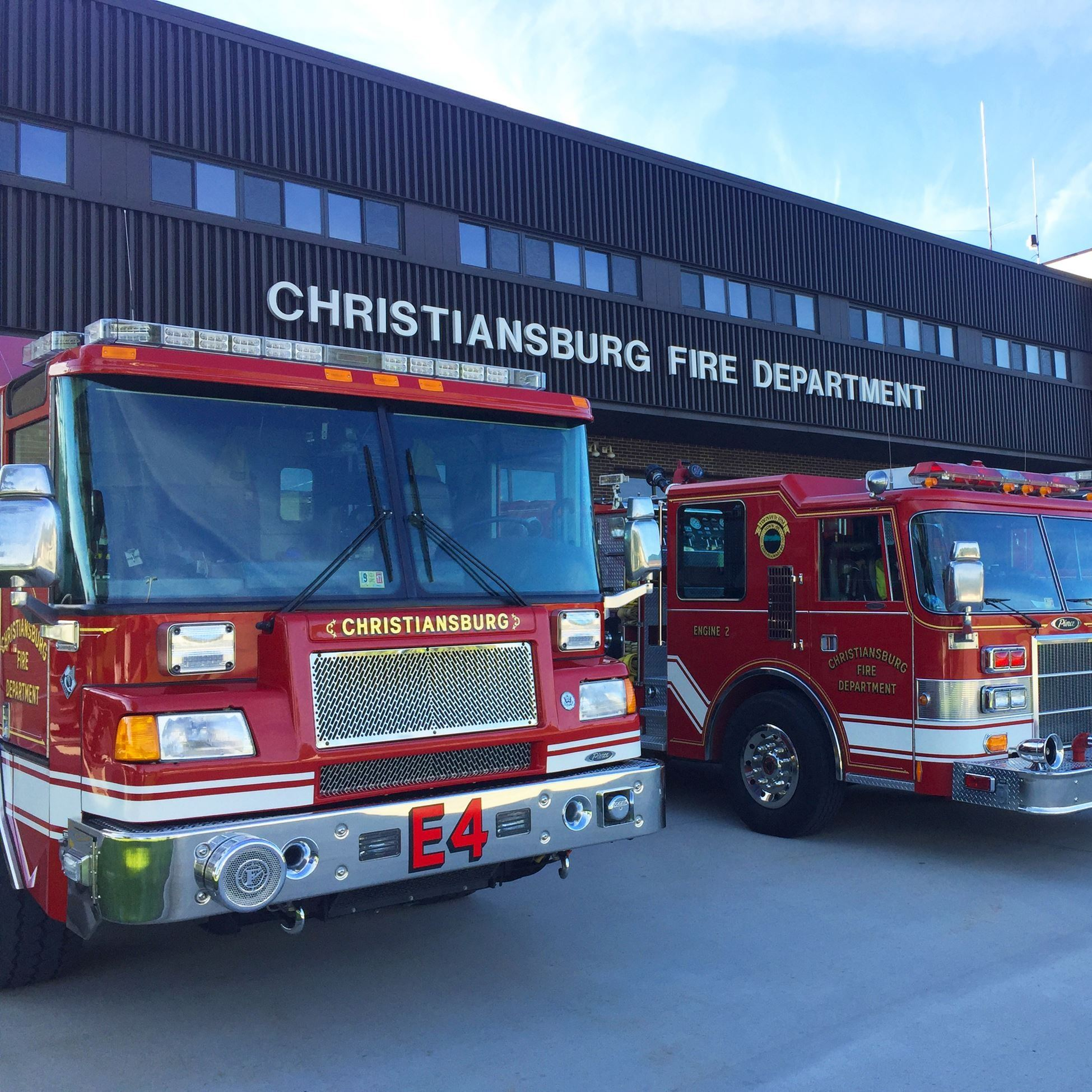 Christiansburg Volunteer Fire Department Firetrucks