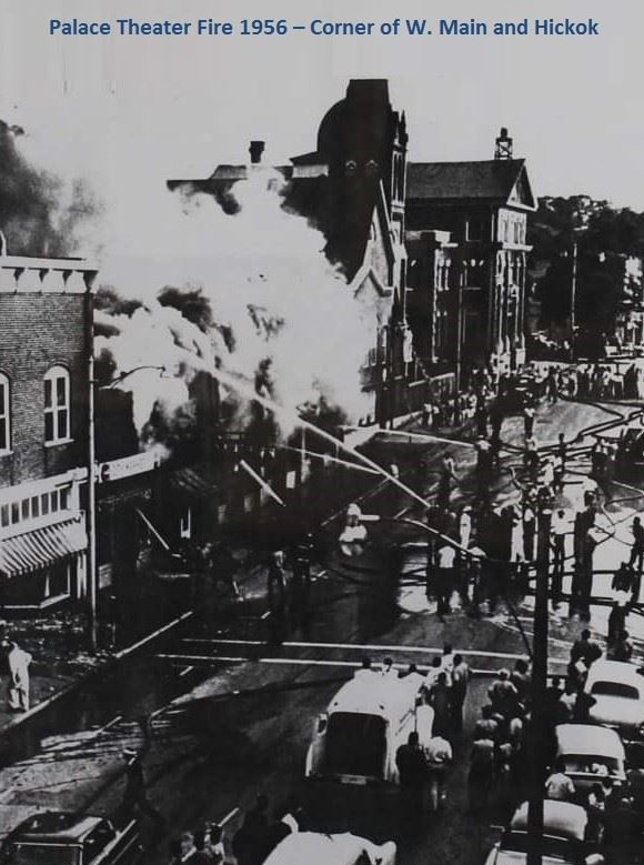 Palace Theater Fire 1956