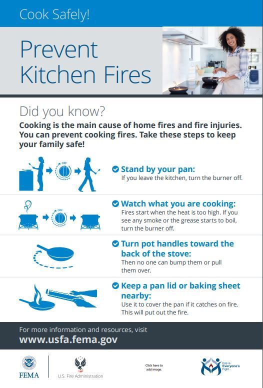kitchen fire_prevention tips