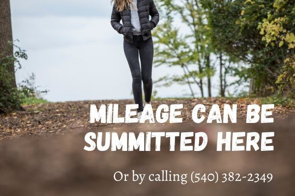 Mileage can be summitted here Opens in new window
