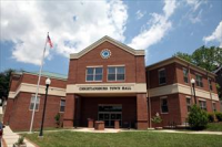 Front of Christiansburg Town Hall